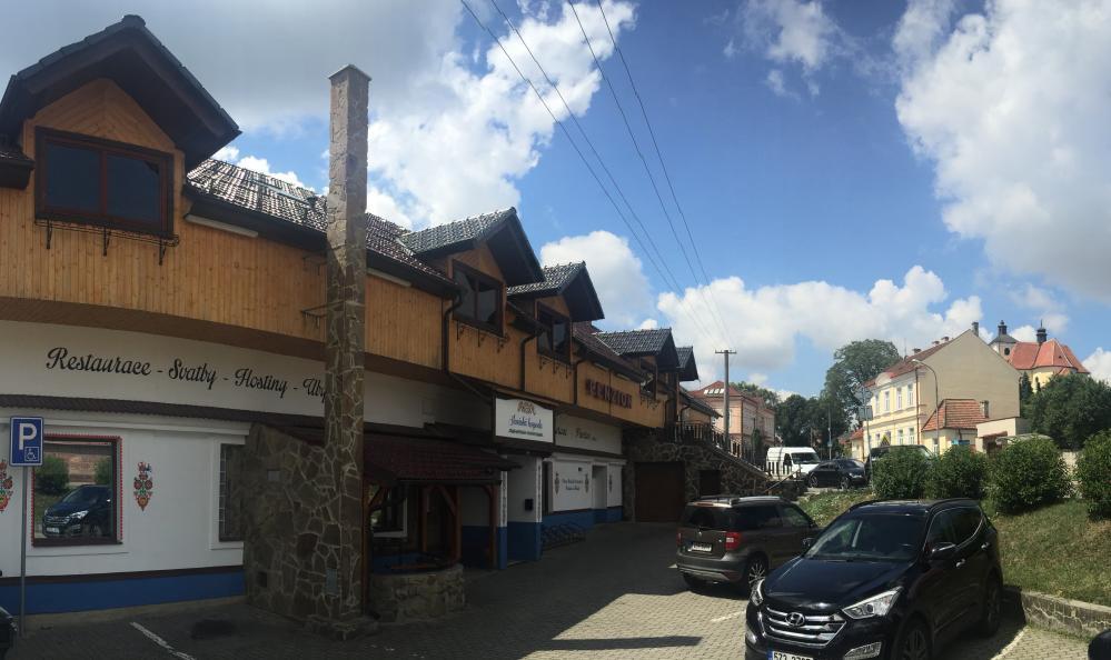 Penzion u Holuba, Hradčovice