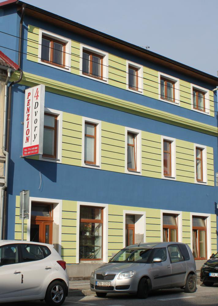 Penzion 4 Dvory, České Budějovice