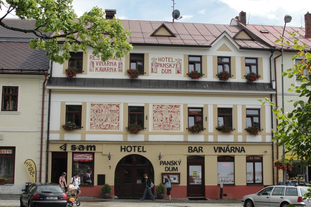 Hotel PANSKÝ DŮM , Nové Město na Moravě