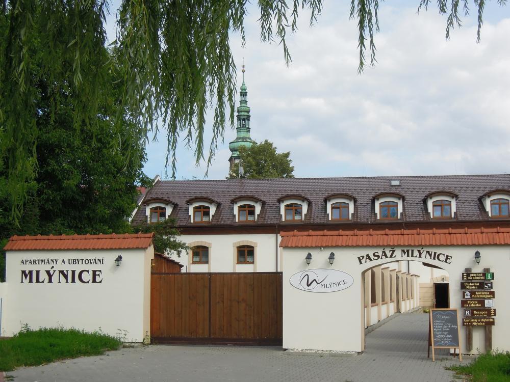 Apartmány a Ubytování Mlýnice, Litovel