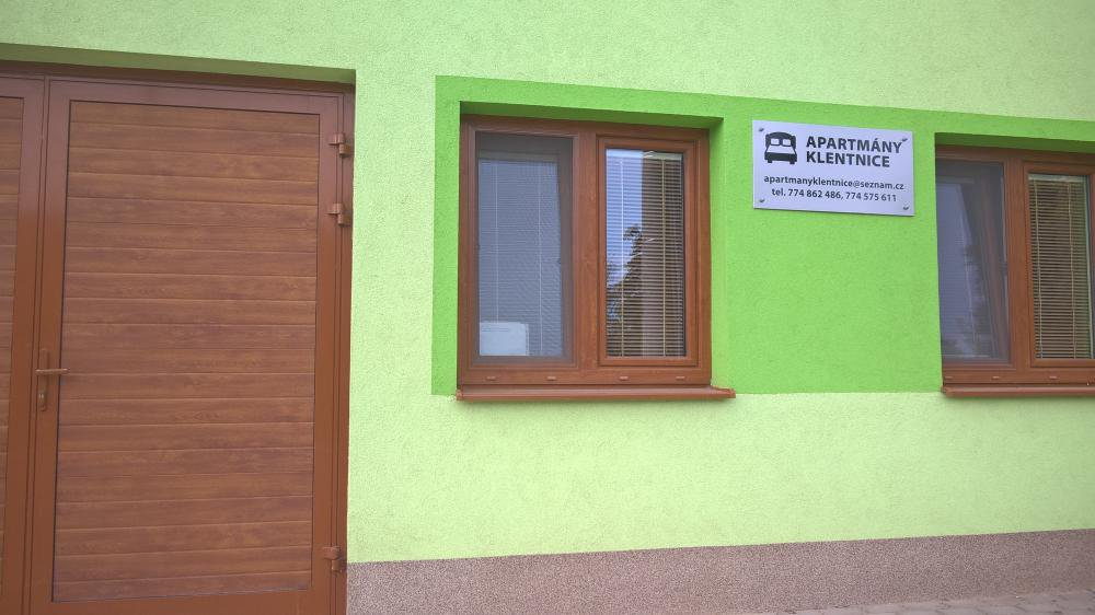 Apartmány-Klentnice, Klentnice