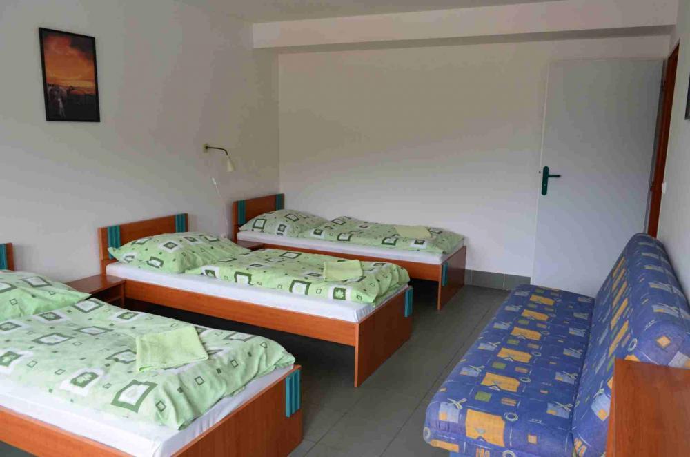 Penzion na koupališti, Němčičky