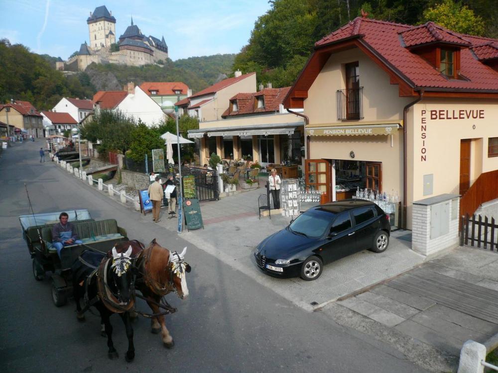 Penzion Vyhlídka, Karlštejn
