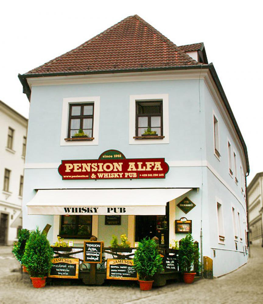 Pension Alfa & Whisky Pub, Tábor
