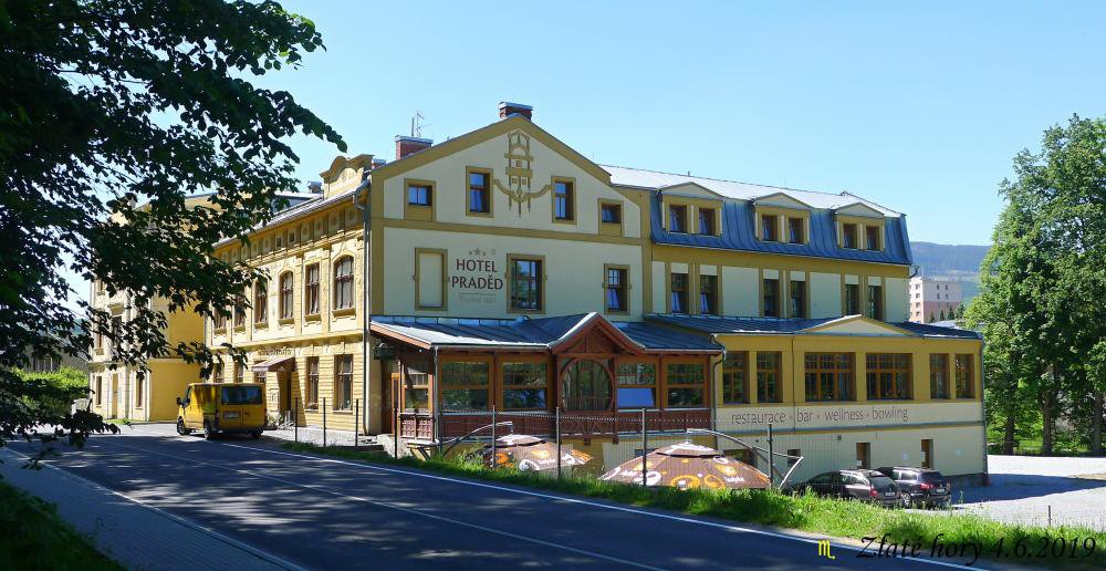 Hotel a Penzion Praděd Thamm, Zlaté Hory