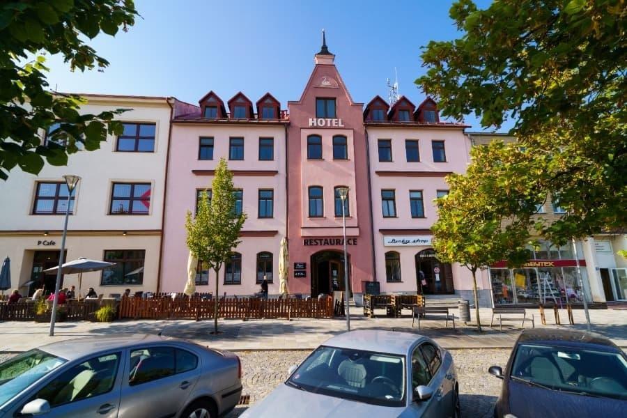 Hotel U Labutě , Žďár nad Sázavou
