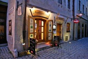 Hotel a restaurace Švamberský dům, Český Krumlov