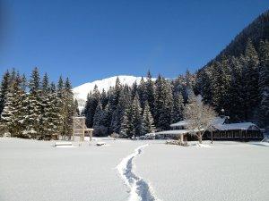 Bouda v Obřím dole, Pec pod Sněžkou
