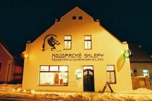 penzion restaurace Novopacké sklepy, Nová Paka