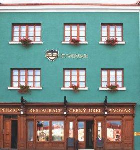 ČERNÝ OREL | wellness hotel | pivovar | čokoládovna, Kroměříž