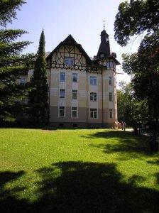 WELLNESS HOTEL VILLA GROHMANN, Lipová-lázně