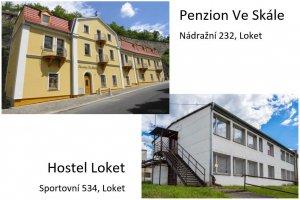Penzion Ve Skále, Hostel Loket, Loket
