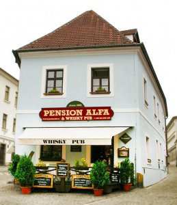 Pension Alfa & Whisky Pub, Tábor