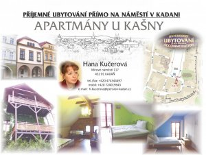Apartmány u kašny, Kadaň