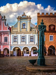 Chornitzerův dům - romantické ubytování Telč, Telč
